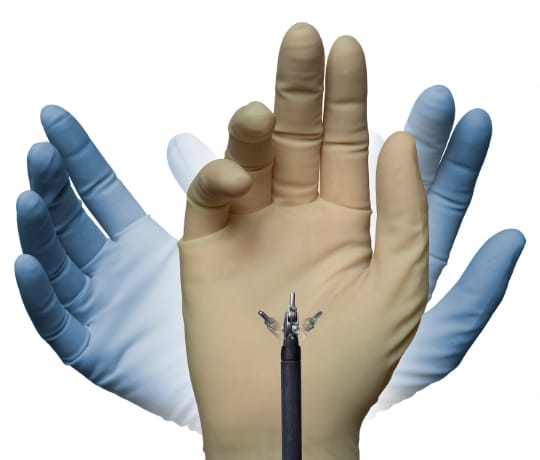 ダビンチの精密・繊細なロボットの手