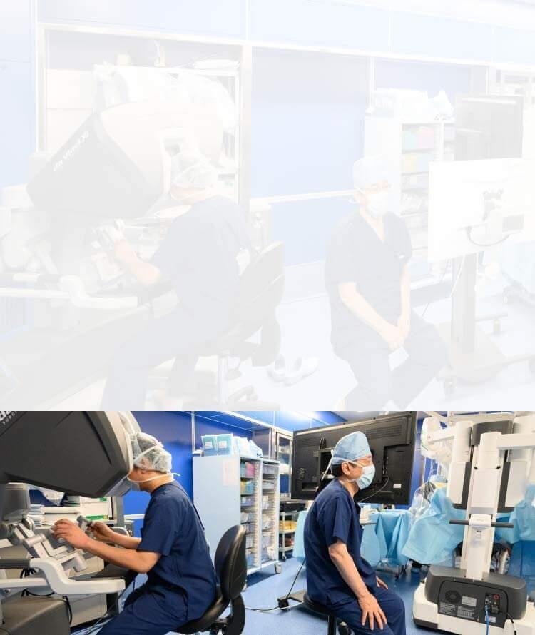 ロボット手術支援システムダビンチ