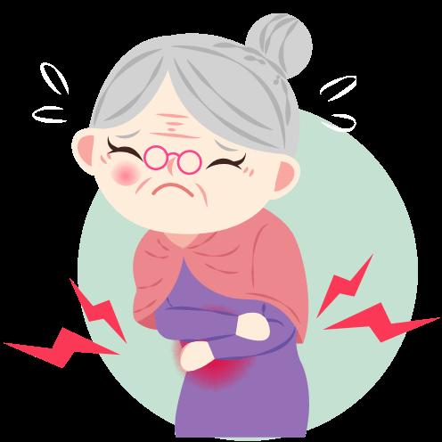 腎がんの症状のわき腹の痛み