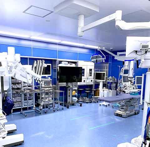 手術室内の様子